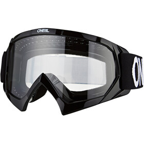 O'Neal B-10 Goggles Kinderen, solid black/white